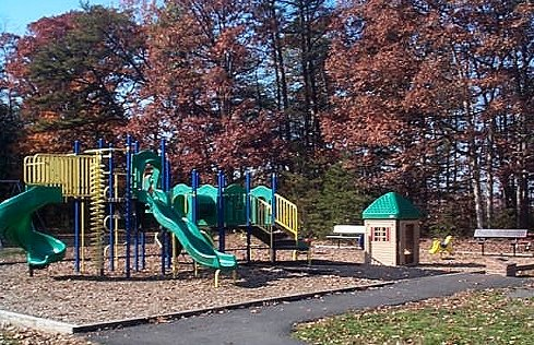The Playground in Fall